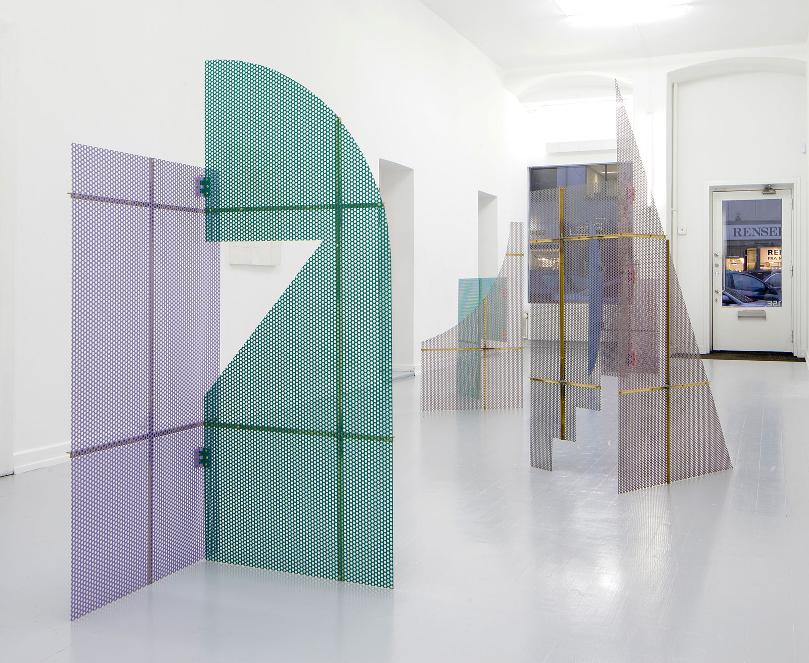 installation view of &quot;Screens &amp; Reliefs&quot;<br/>EtageProjects Kopenhagen, 2014