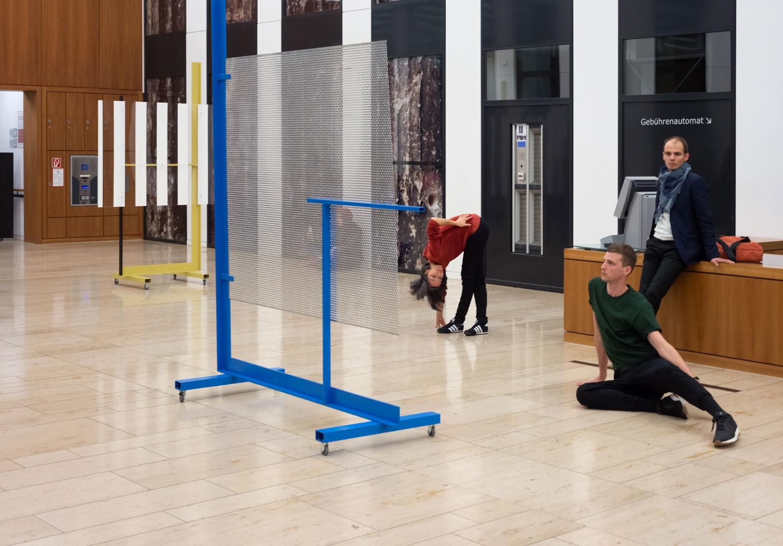 Performance View at Grimm Zentrum, Berlin