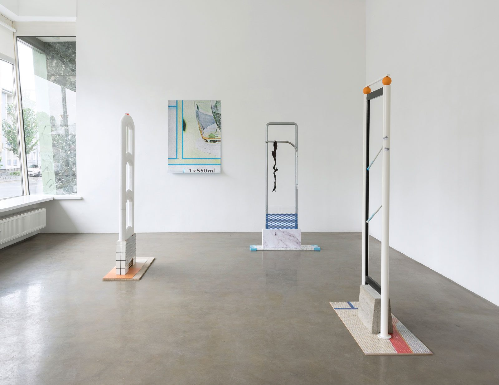Guards, 2018<br/>Installation view, Jacky Strenz Galerie, Frankfurt/Main<br/>